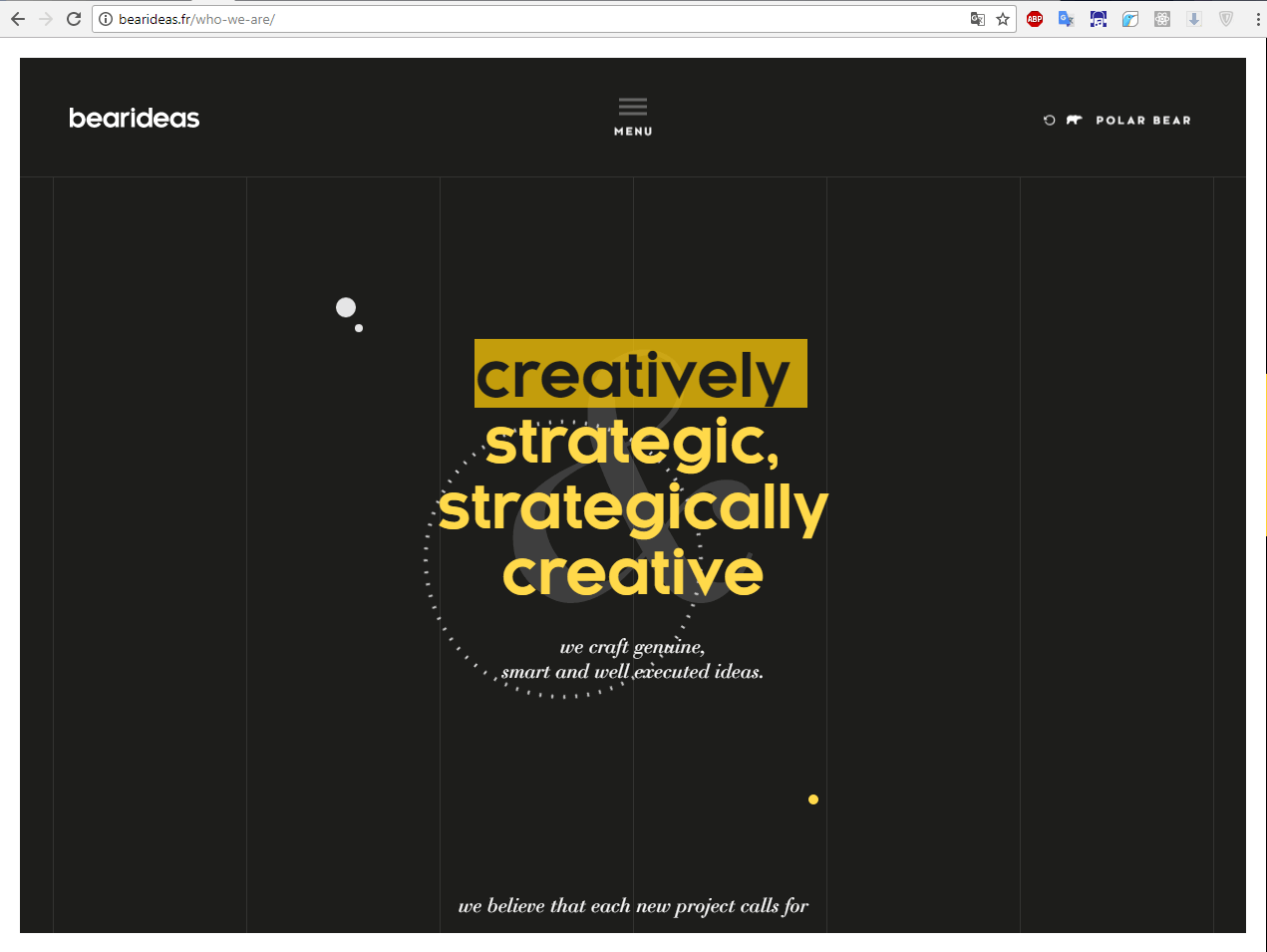 Обзор сайта bearideas • Создание и продвижение сайтов
